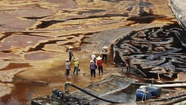 部分地区水污染严重异常的图片